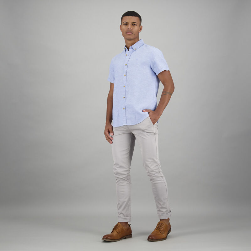Men's Colt Slim Fit Shirt -  blue