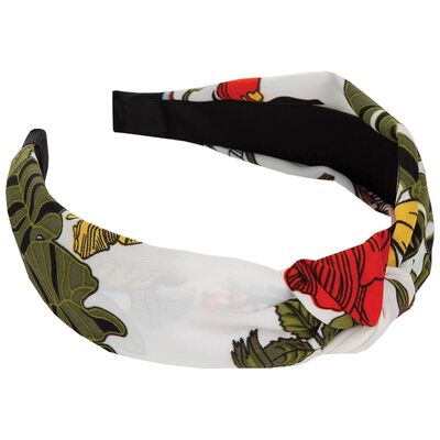 Floral Knotted Alice Band