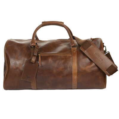 Boris Weekender Leather Bag
