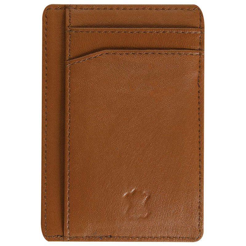 Richard Leather Cardholder -  tan