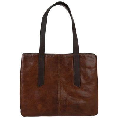 Jessica Leather Shopper Bag