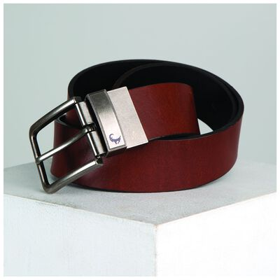 Old Khaki Men's Thomas Leather Reversible Belt