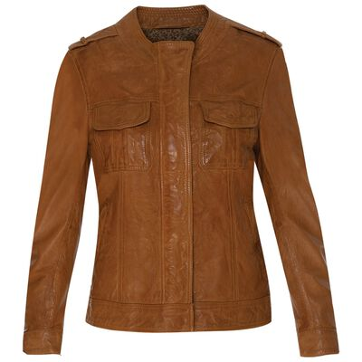Greer Women's Leather Jacket