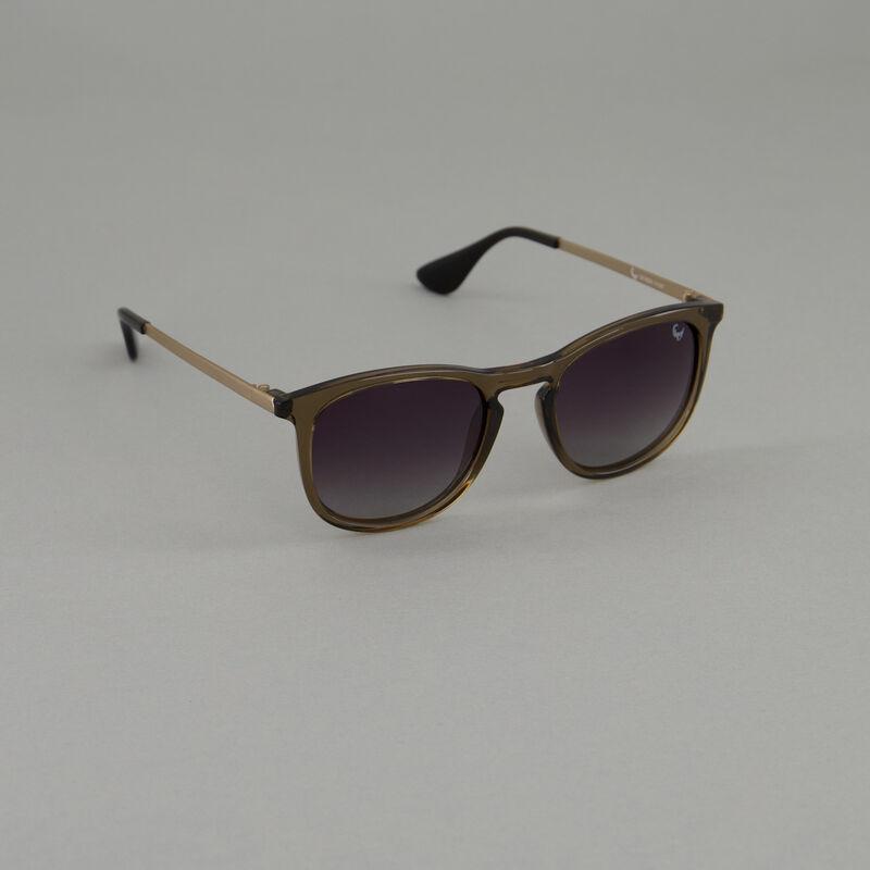 Old Khaki Men's Polarised Lounger Sunglasses -  brown-silver