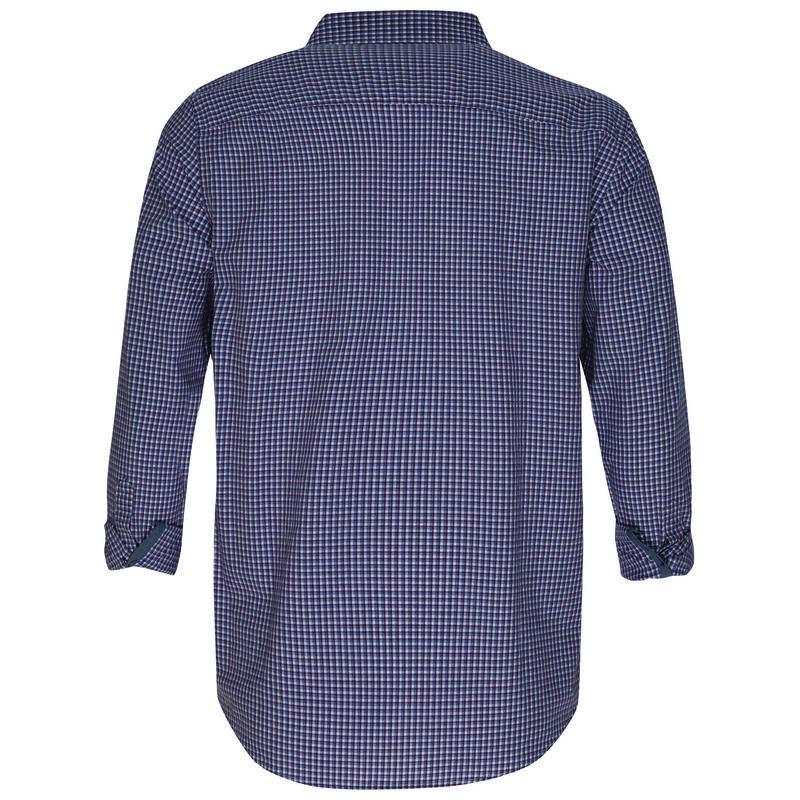Kennedy Men's Regular Fit Shirt -  burgundy