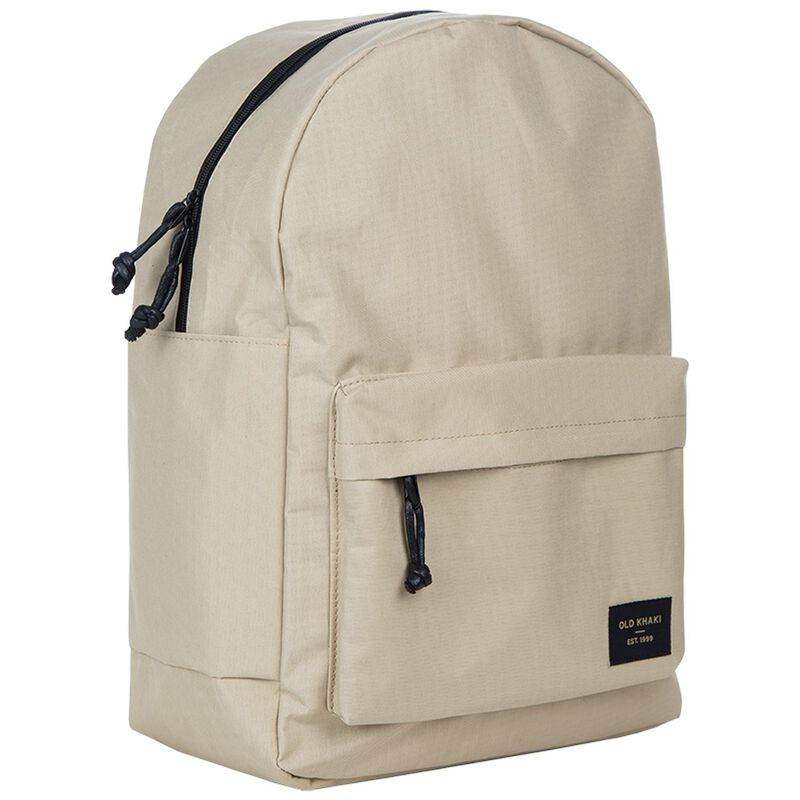 Crosby Retro Badge Backpack -  stone-black