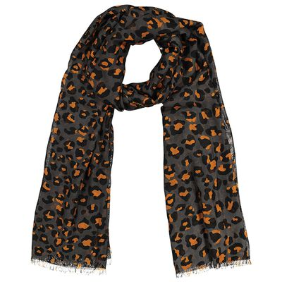 Mayeli Animal Print Scarf