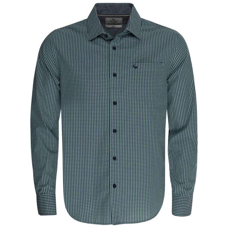 Potter Slim Fit Shirt -  sage