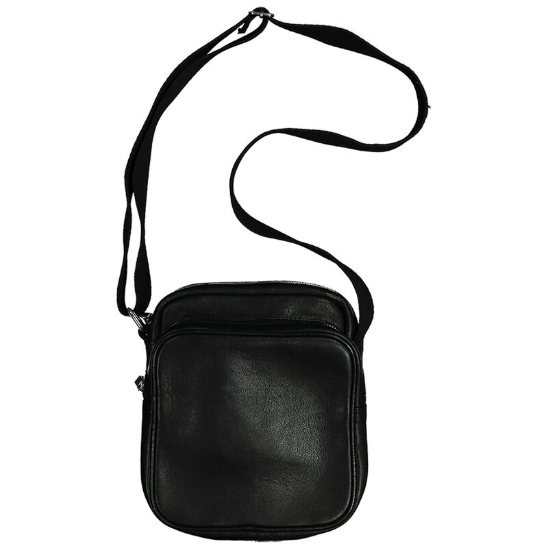 Riaan Leather Satchel -  black