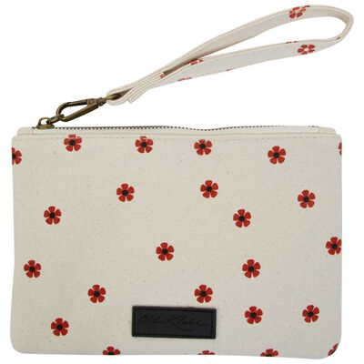 Women's Rylee Embroidered Fabric Pouch