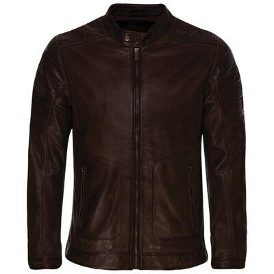Old Khaki Men's Cam Leather Jacket