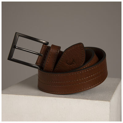 Old Khaki Men's Samuel Stitch Detailed Belt