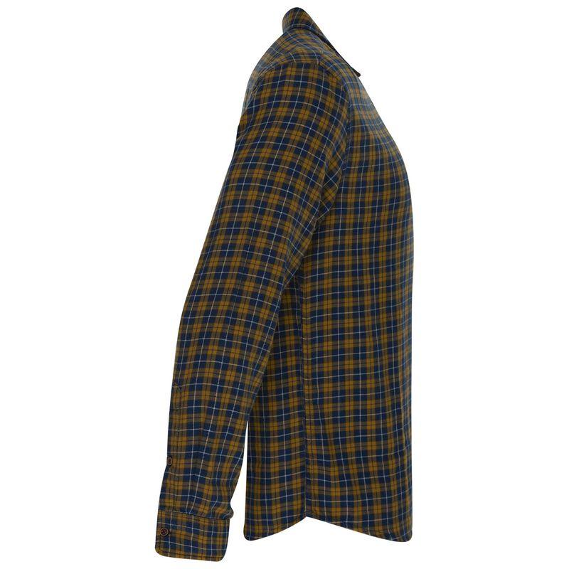 Harry Slim Fit Shirt  -  ochre