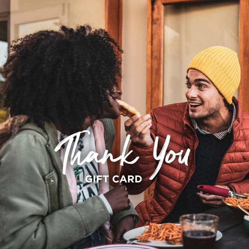 Gift Card - Thank You -